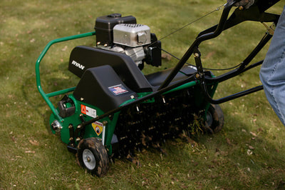 aerating lawn care bellevue